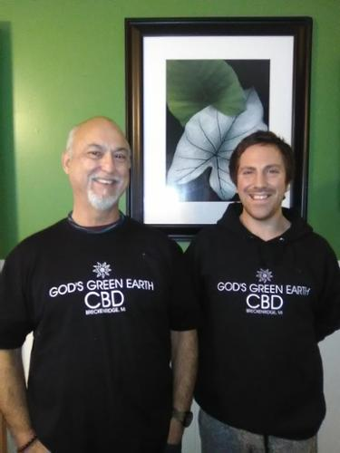 Dan Cochran, left, master capsule maker.  Scott Korth, right, founder, instigator, idea man.